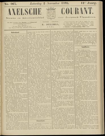 Axelsche Courant 1895-11-02