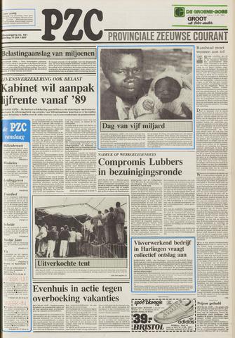 Provinciale Zeeuwse Courant 1987-07-11