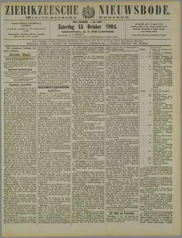 Zierikzeesche Nieuwsbode 1904-10-15
