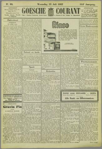 Goessche Courant 1927-07-13