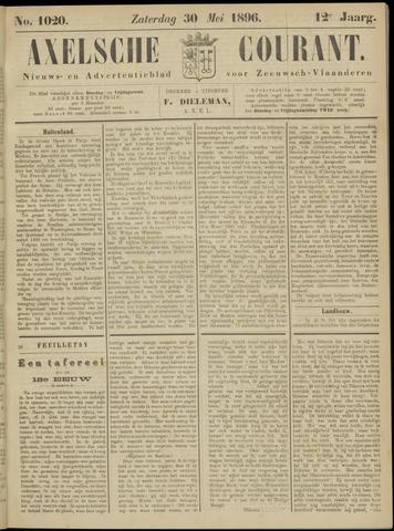 Axelsche Courant 1896-05-30