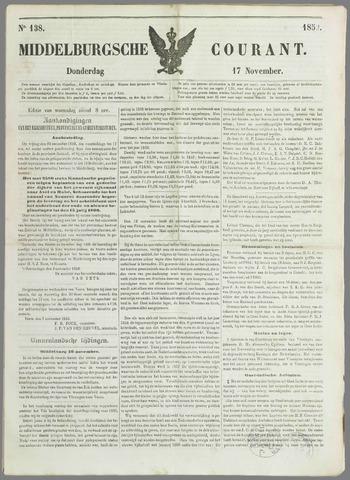 Middelburgsche Courant 1859-11-17