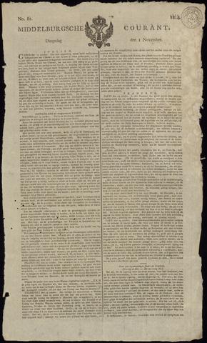 Middelburgsche Courant 1814-11-01