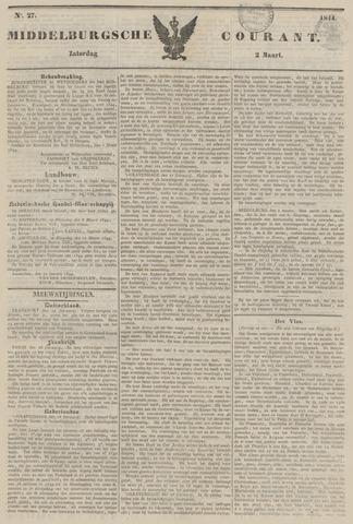 Middelburgsche Courant 1844-03-02