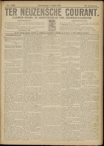 Ter Neuzensche Courant. Algemeen Nieuws- en Advertentieblad voor Zeeuwsch-Vlaanderen / Neuzensche Courant ... (idem) / (Algemeen) nieuws en advertentieblad voor Zeeuwsch-Vlaanderen 1916-04-06