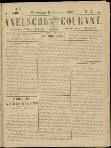 Axelsche Courant 1890-01-08