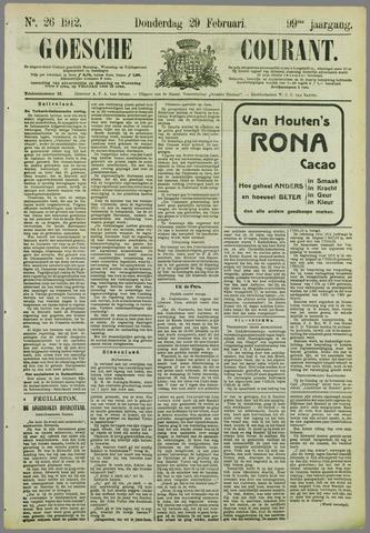 Goessche Courant 1912-02-29