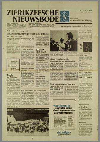 Zierikzeesche Nieuwsbode 1972-07-03