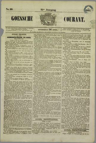 Goessche Courant 1855-04-26