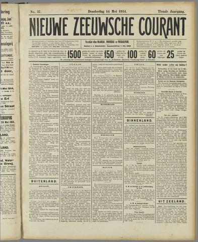 Nieuwe Zeeuwsche Courant 1914-05-14