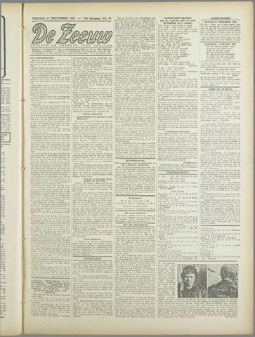 De Zeeuw. Christelijk-historisch nieuwsblad voor Zeeland 1943-12-31