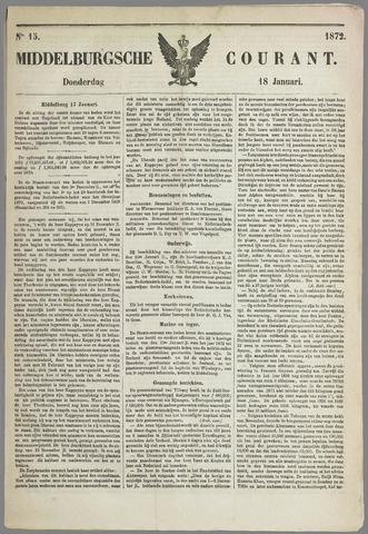 Middelburgsche Courant 1872-01-18