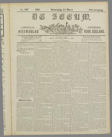 De Zeeuw. Christelijk-historisch nieuwsblad voor Zeeland 1910-03-23