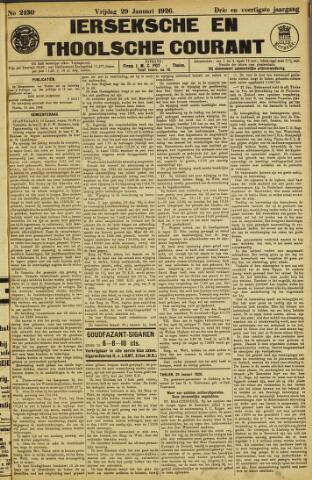 Ierseksche en Thoolsche Courant 1926-01-29