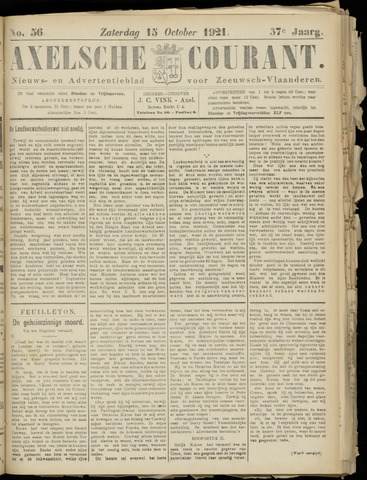 Axelsche Courant 1921-10-15