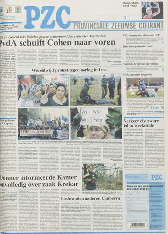 Provinciale Zeeuwse Courant 2003-01-20