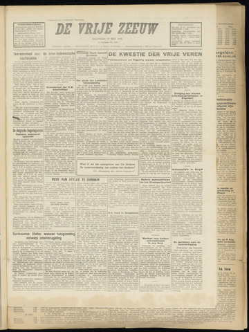 de Vrije Zeeuw 1949-07-25