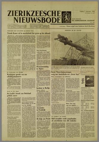 Zierikzeesche Nieuwsbode 1962-09-07