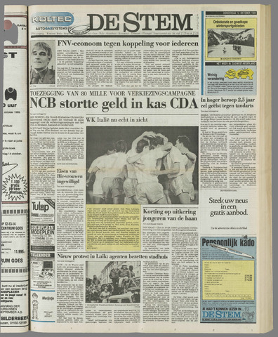 de Stem 1989-10-12