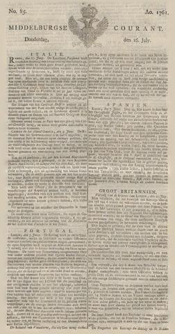 Middelburgsche Courant 1761-07-16