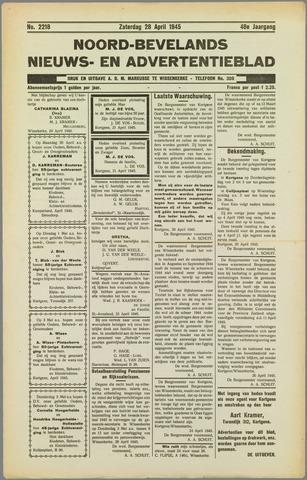 Noord-Bevelands Nieuws- en advertentieblad 1945-04-28