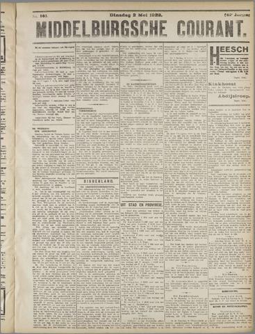 Middelburgsche Courant 1922-05-02