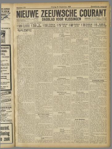 Nieuwe Zeeuwsche Courant 1921-09-16
