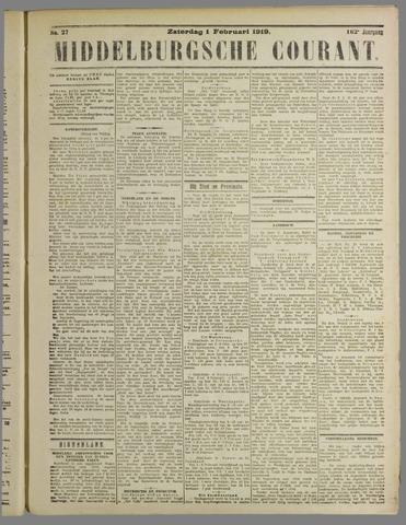Middelburgsche Courant 1919-02-01