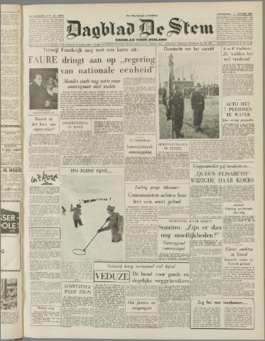 de Stem 1956-01-05