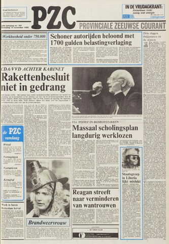 Provinciale Zeeuwse Courant 1985-11-13