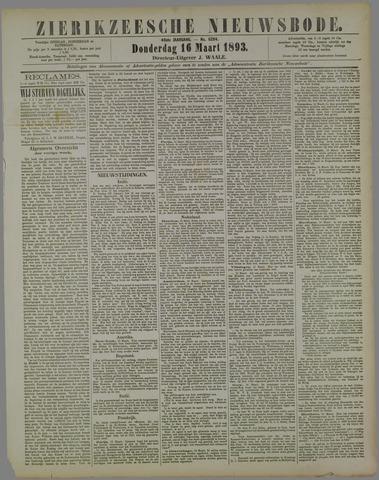 Zierikzeesche Nieuwsbode 1893-03-16