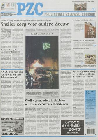 Provinciale Zeeuwse Courant 2000-11-22