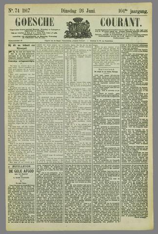 Goessche Courant 1917-06-26