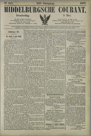 Middelburgsche Courant 1887-05-05
