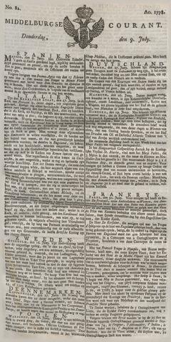 Middelburgsche Courant 1778-07-09