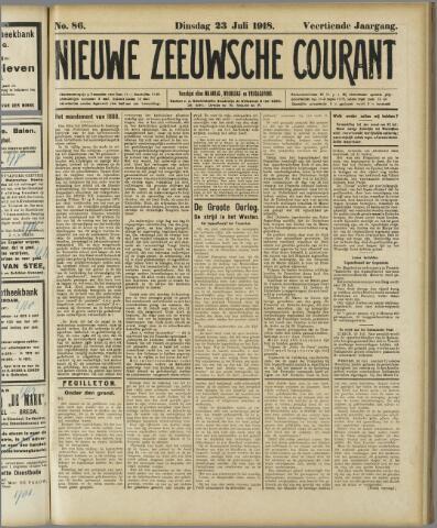 Nieuwe Zeeuwsche Courant 1918-07-23