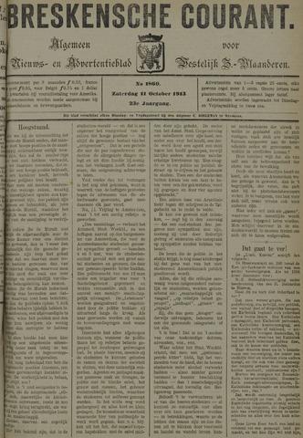 Breskensche Courant 1913-10-11