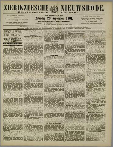 Zierikzeesche Nieuwsbode 1901-09-28