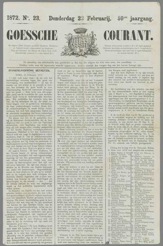 Goessche Courant 1872-02-22