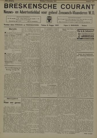 Breskensche Courant 1936-12-15