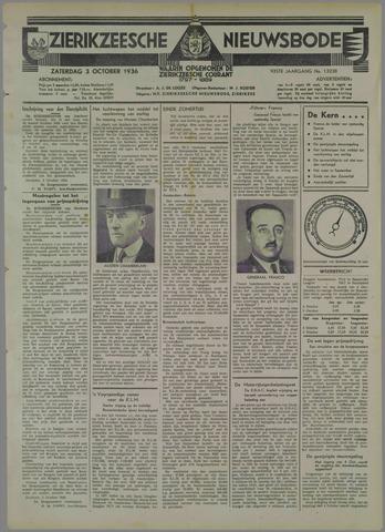 Zierikzeesche Nieuwsbode 1936-10-03