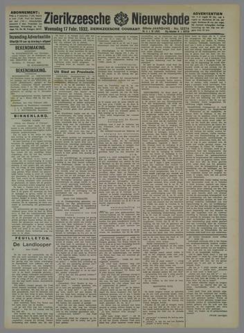Zierikzeesche Nieuwsbode 1932-02-17