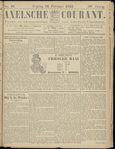 Axelsche Courant 1923-02-16