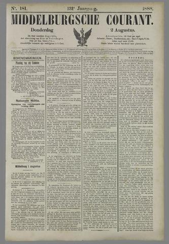 Middelburgsche Courant 1888-08-02