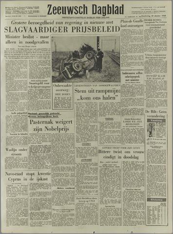 Zeeuwsch Dagblad 1958-10-30