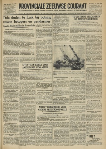 Provinciale Zeeuwse Courant 1950-07-31