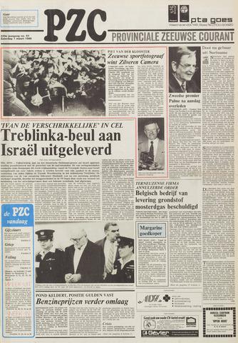 Provinciale Zeeuwse Courant 1986-03-01