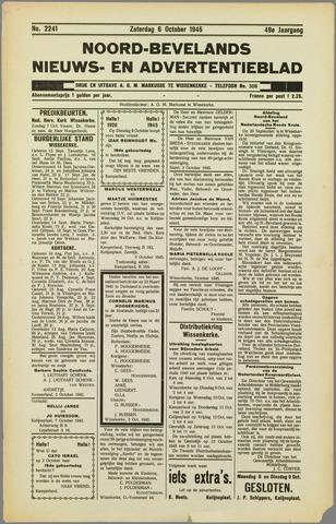 Noord-Bevelands Nieuws- en advertentieblad 1945-10-06