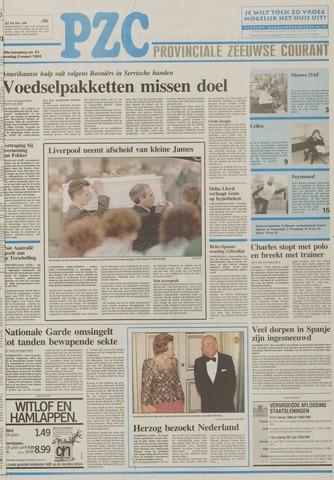 Provinciale Zeeuwse Courant 1993-03-02