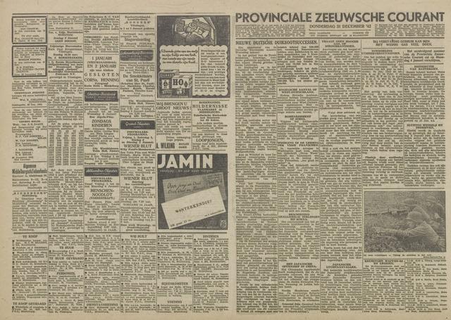 Provinciale Zeeuwse Courant 1942-12-31